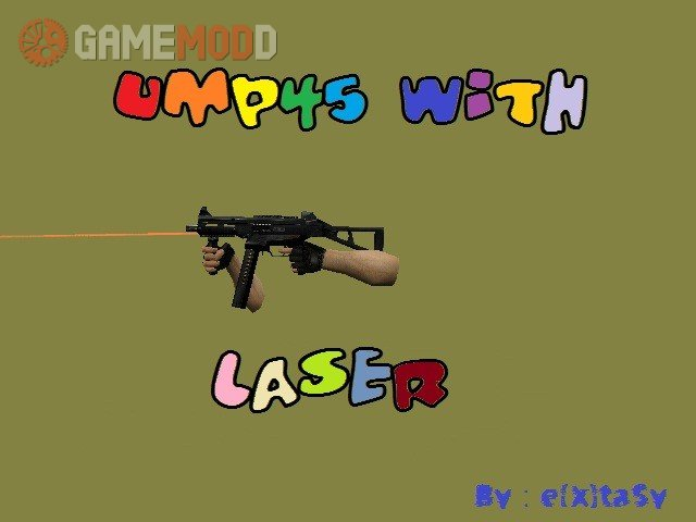 Ump45 with laser