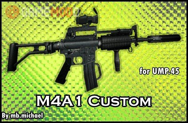 M4A1 Custom for Ump.45