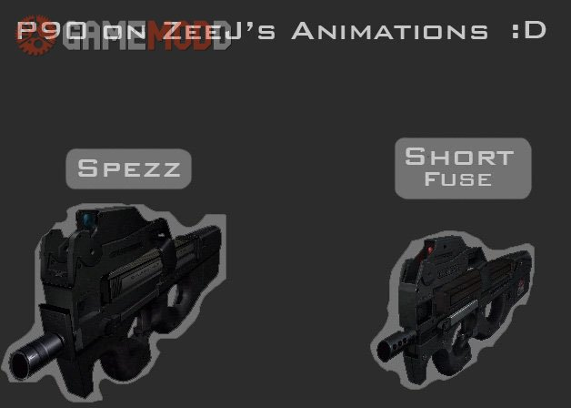P90 on ZeeJ's Animations
