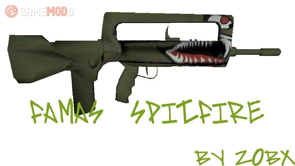 Famas Spitfire » CS 1 6 - Skins Weapons FAMAS | GAMEMODD