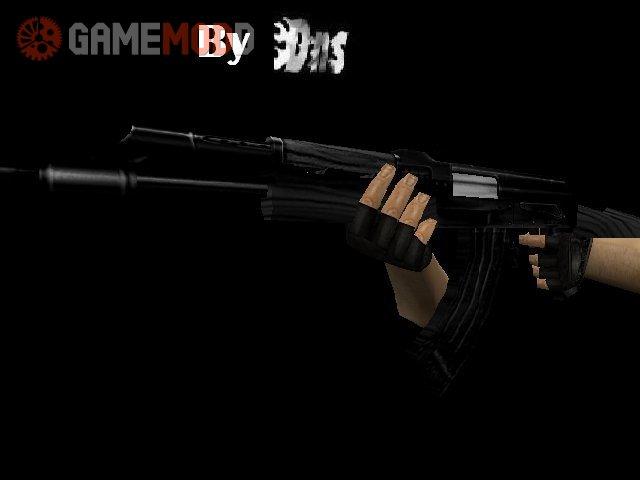 Dark Black Ak47