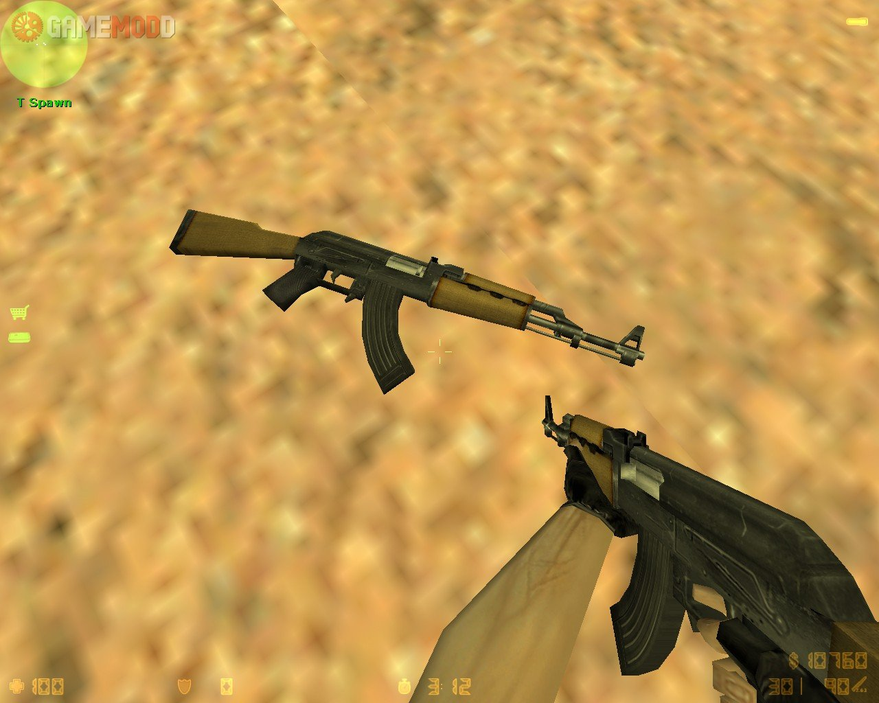 Zastava M-70 » CS 1.6 - Skins Weapons AK-47