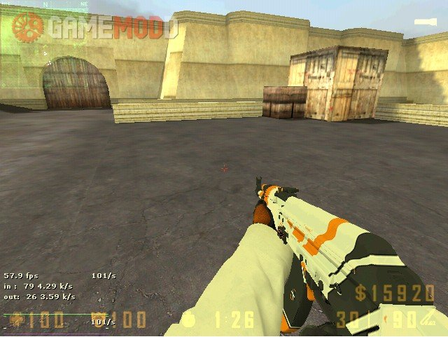 CS GO AK-47 AsiiMoV » CS 1.6 - Skins Weapons AK-47