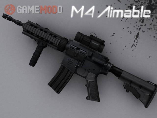 M4 Aimable on DMG anims (CoD4 Style)