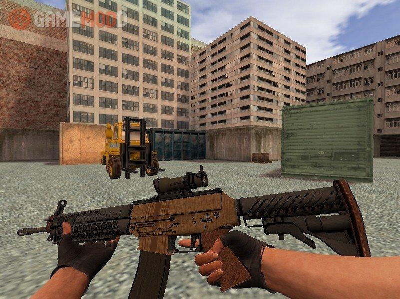 C4 On The Go >> CSGO SG553 Traveler » CS 1.6 - Skins Weapons Sig 552 ...