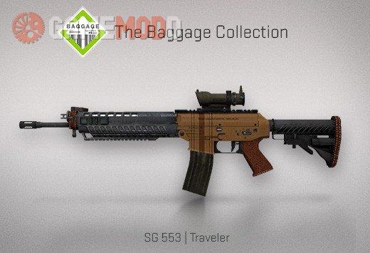 CSGO SG553 Traveler