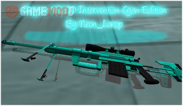 Cheytac M200 Intervention Cyan Edition