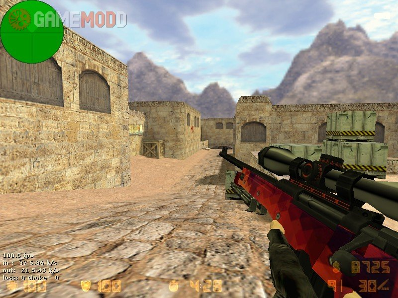 An updated Rifle AWP for the cs 1.6 model. The correct texture of the model looks good. The animation is also at the proper level. Download and rate.