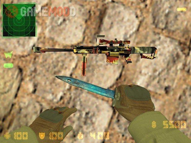 [Crossfire] Barrett M82A1 Chaos Dragon