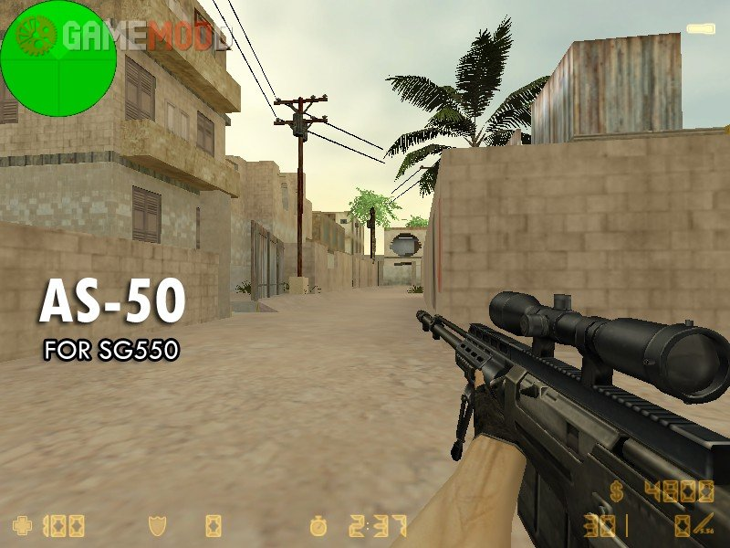 Accuracy International AS50 v2 » CS 1 6 - Skins Weapons SIG SG 550
