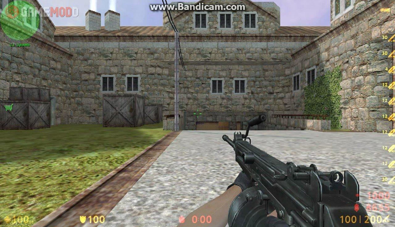 Ultimax 100 » CS 1.6 - Skins Weapons M249 | GAMEMODD