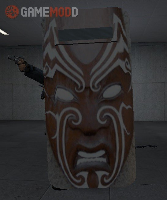 Maori mask for shields Update 1