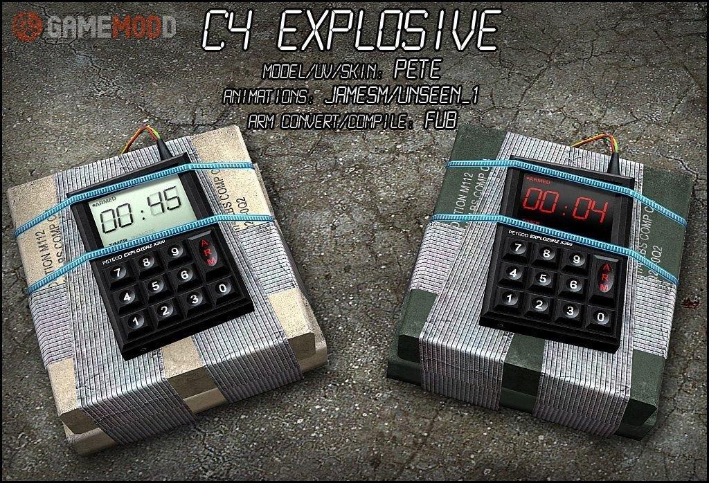 C4 Bombe