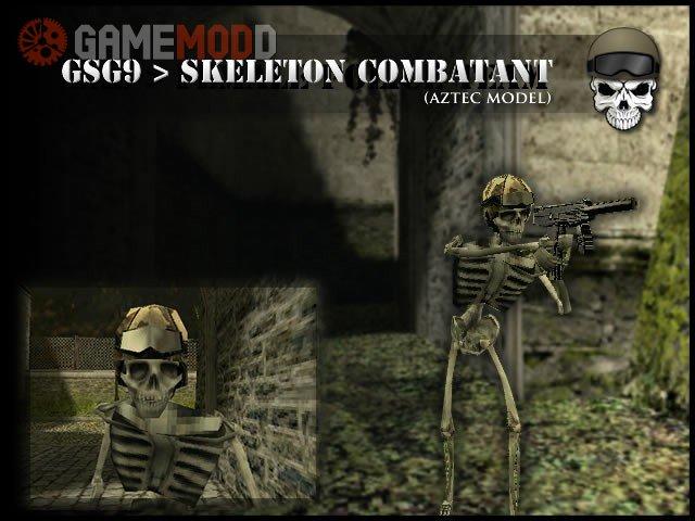 GSG9 Combatant Skeleton