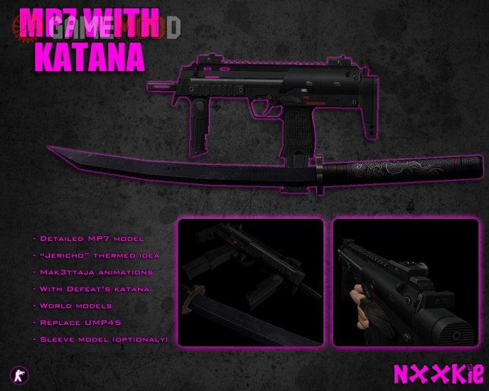 MP7 with Katana