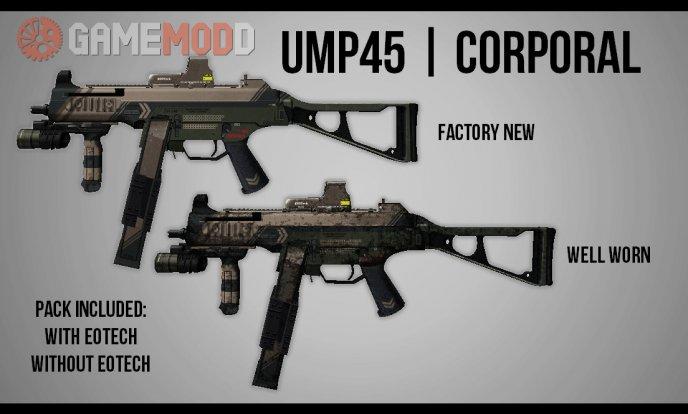 H.K TACTICAL UMP45 | Corporal
