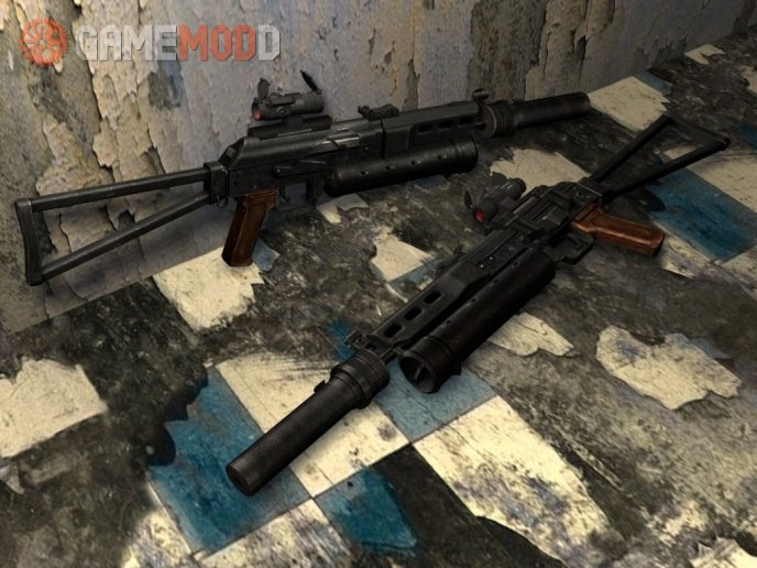 3dstart's Tactical Bizon On Mullet's Animation