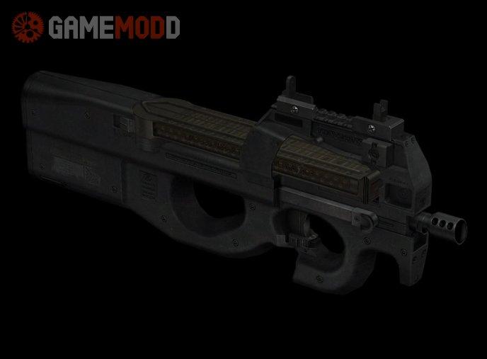 Iron Sight FN P90 On CSGO