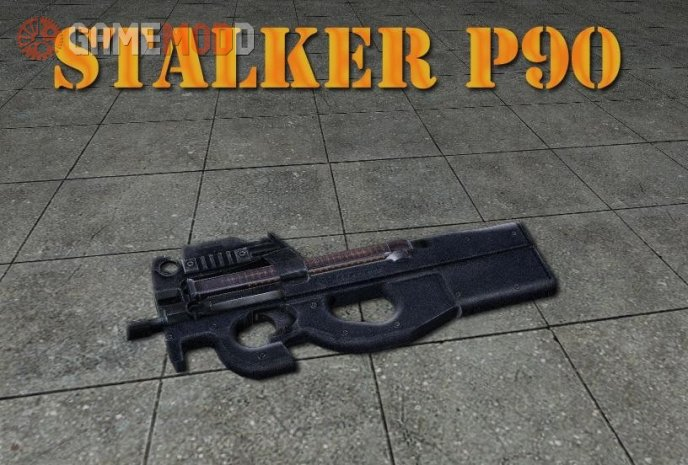 STALKER P90 On CSGO anims