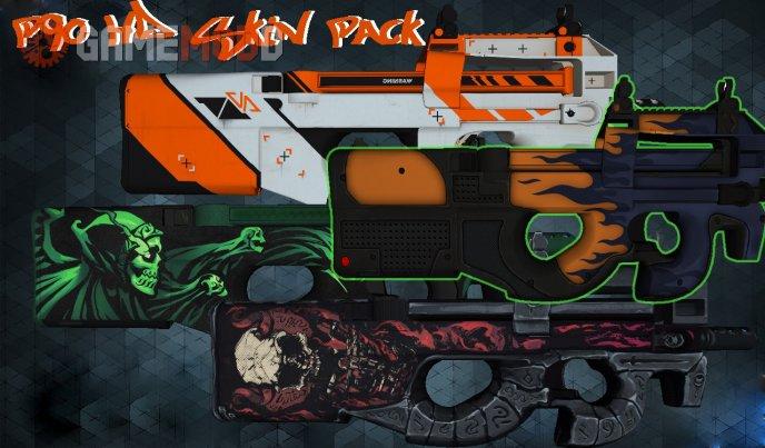 CS 1 6 - Skins Weapons P90 | GAMEMODD