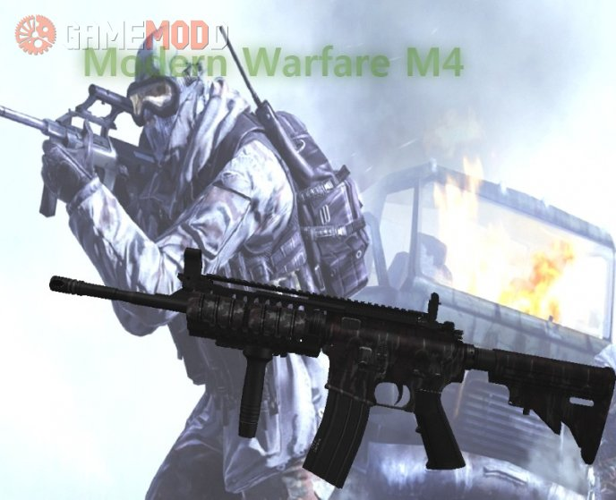 Mw2 M4 for Famas