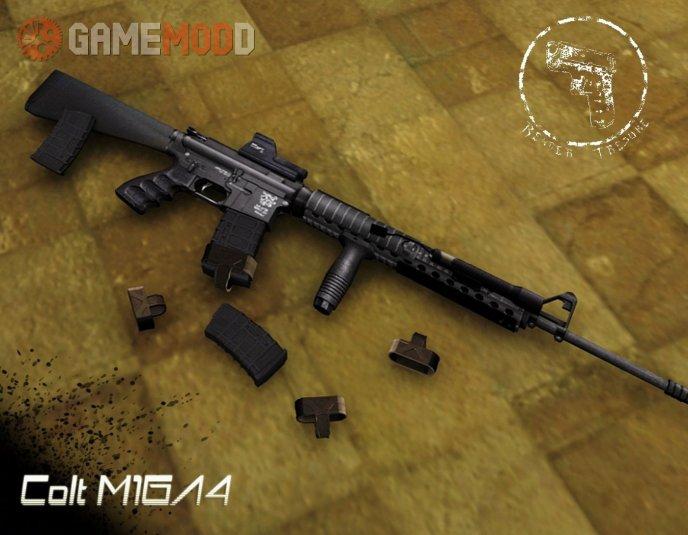 Twinke Masta Tactical M16A4