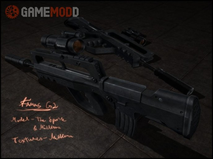 Famas G2 On eXe Animations