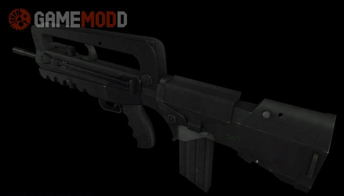 Snipa Masta's Famas on 3 animation pack