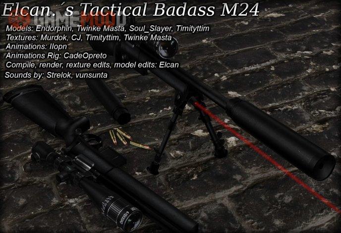Elcan.´s Tactical Badass M24