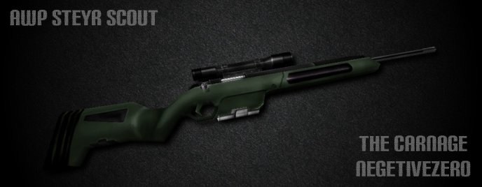 AWP Steyr Scout