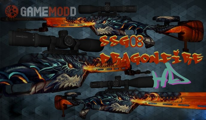 SSG08 Dragonfire HD