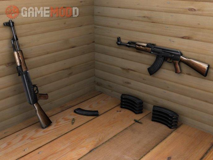 Ettubrutesbro's AK47 on .eXe's anims