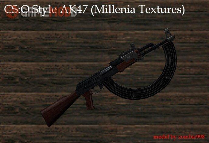 CSO Style Ak47(Millenia Textures)