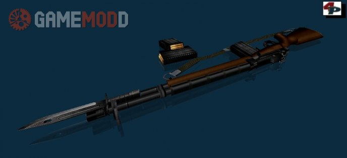 M14 with bayonet