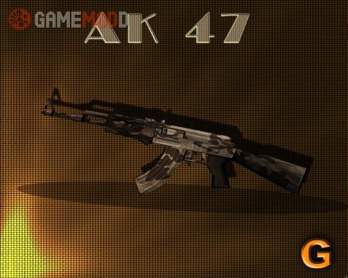 Brown AK-47