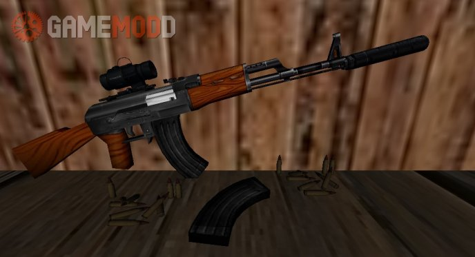 Hacked Ak-47 on ImBrokeRU anims v.2