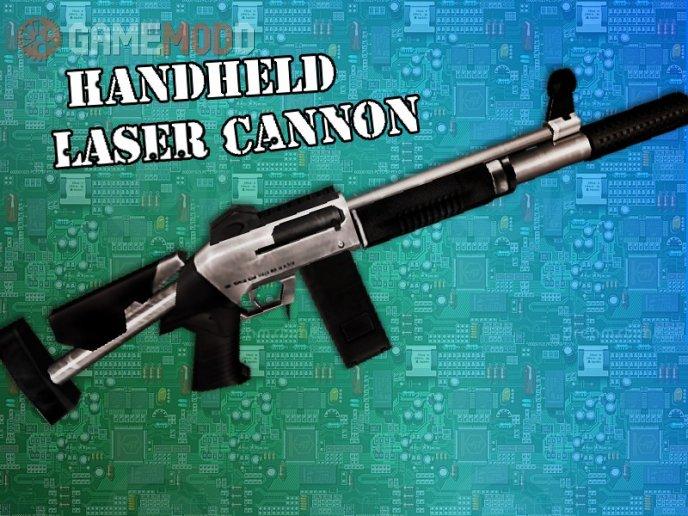 Handheld Laser Cannon