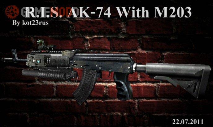 R.I.S. AK-74 with M203