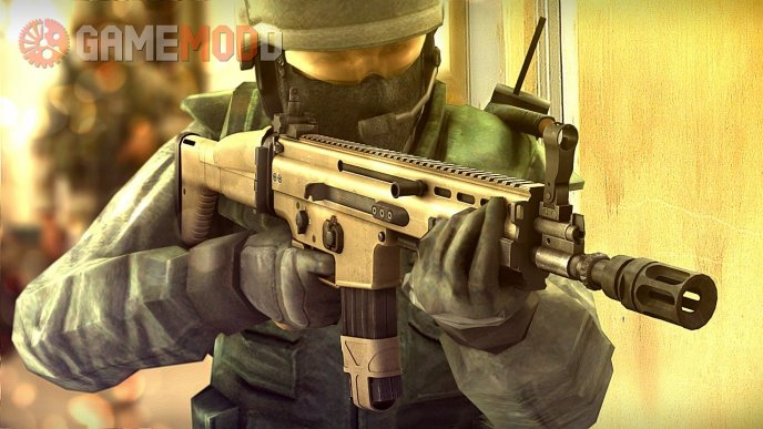 Battlefield3 SCAR-L V2