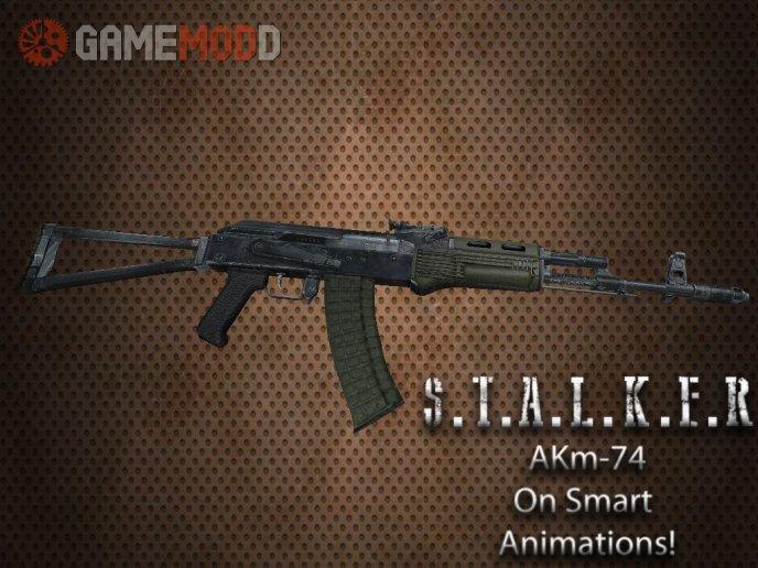 S.T.A.L.K.E.R AK-74 On Smart Anims
