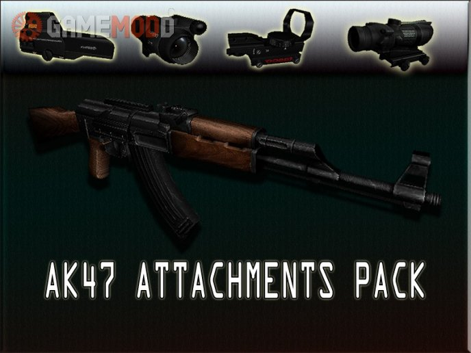 AK47 Attachments Pack on IIopn's
