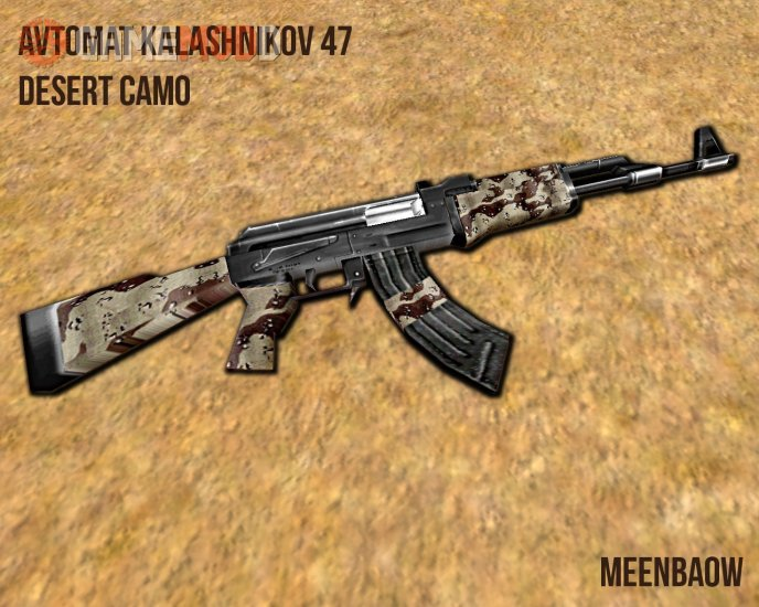 Default AK-47 Desert Camo
