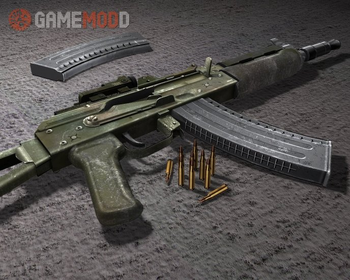 Battlefield2 AKS-74U - Special Forces Use