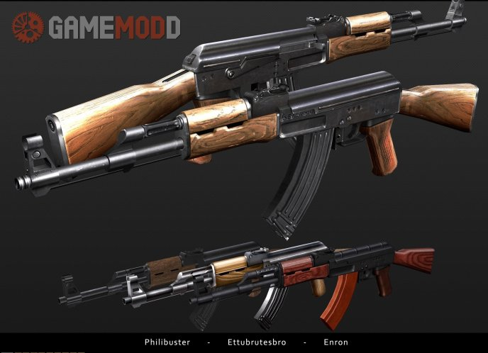 ETTUBRUTESBRO'S AK47 On lIopn's