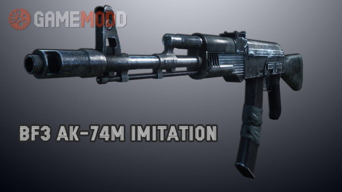 BF3 Ak-74M Imitation