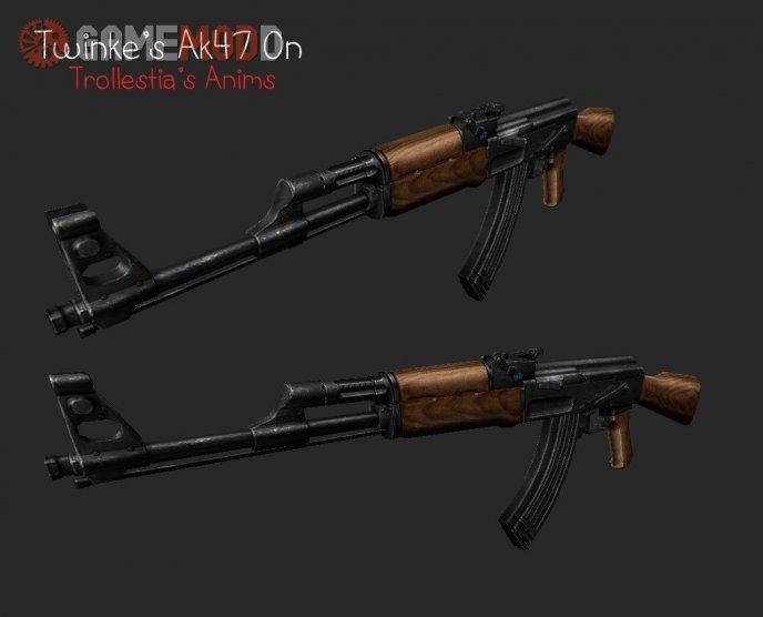 Twinke's Ak47 On Trollestia's Anims