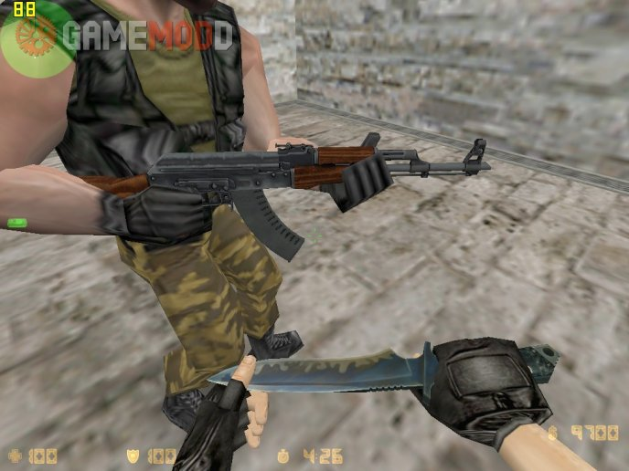 CSGO AK-47 Pack  With CS 1.6 Anims