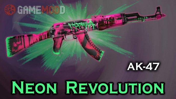 CSGO AK-47 Neon Revolution