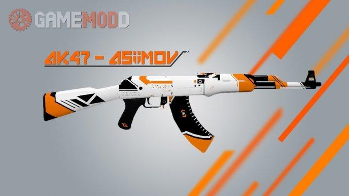 CS GO AK-47 AsiiMoV