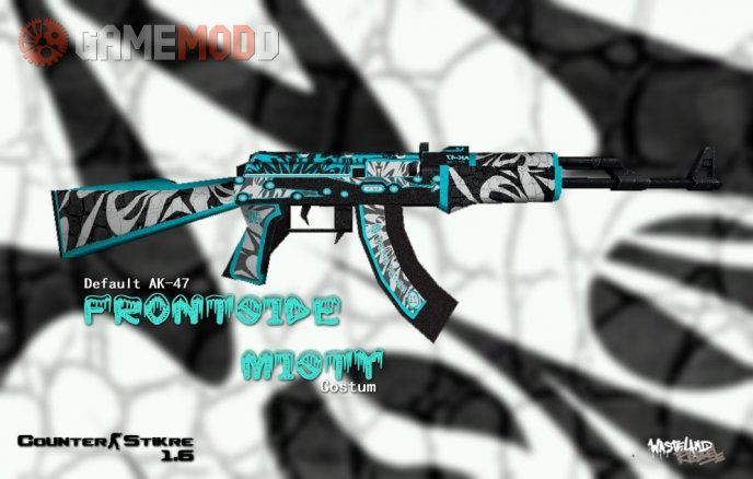 Default Ak-47 Frontside misty